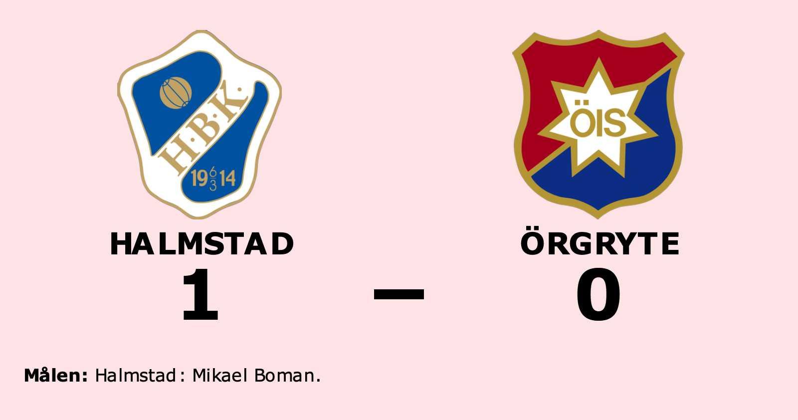 Mikael Boman matchhjälte för Halmstad mot Örgryte