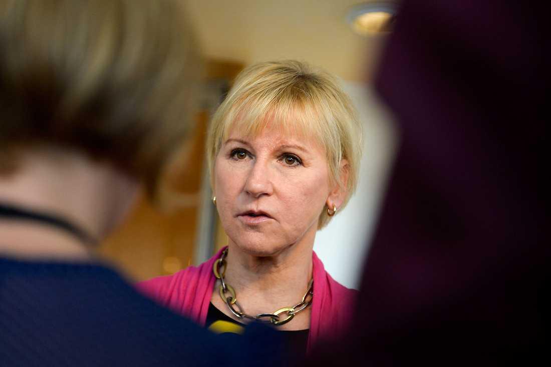 """""""Bristen på demokrati och mänskliga rättigheter har varit ett hinder för landets utveckling"""", skriver Margot Wallström i ett mejl till Aftonbladet."""