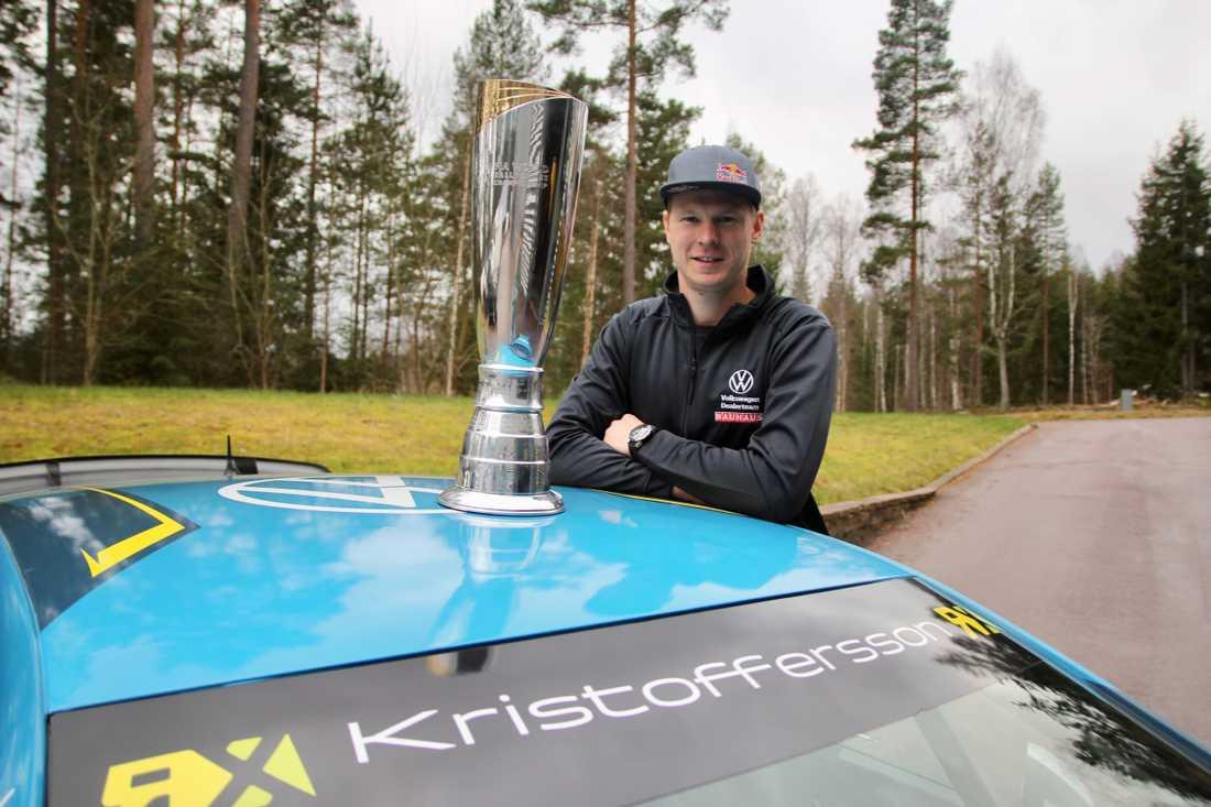 Johan Kristoffersson har vunnit sin tredje VM-titel