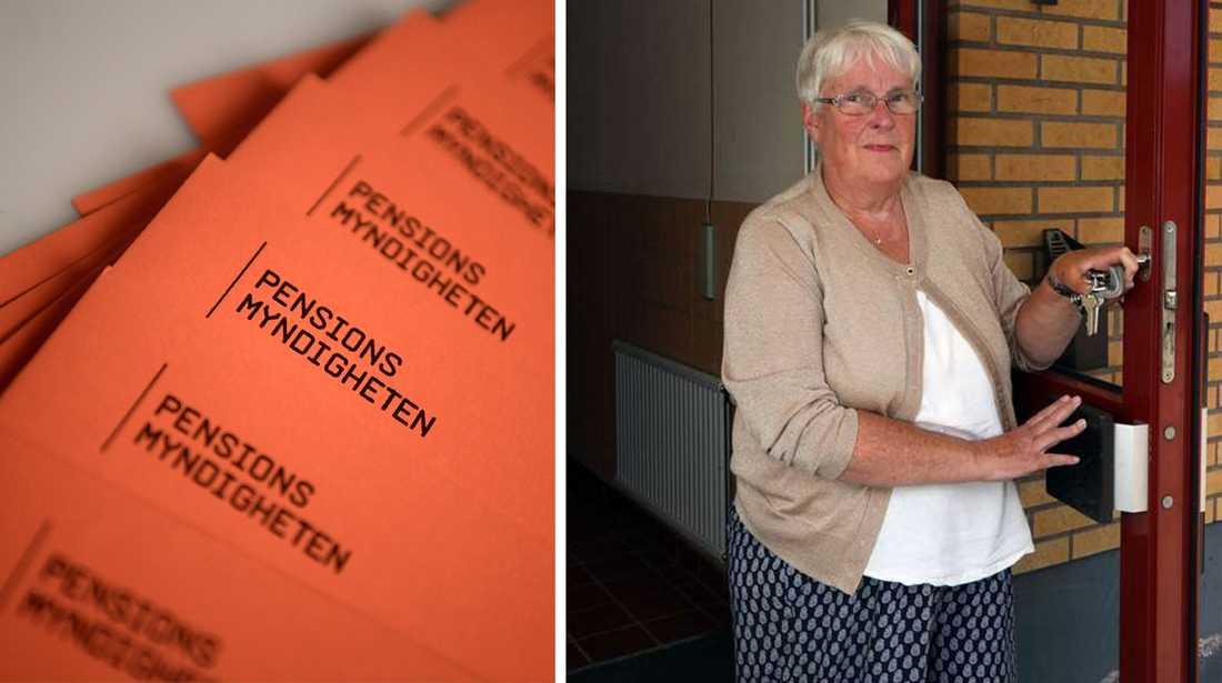Ragnhild Eriksson, 74, är en av många pensionärer som får vänta många månader på bostadstillägget.