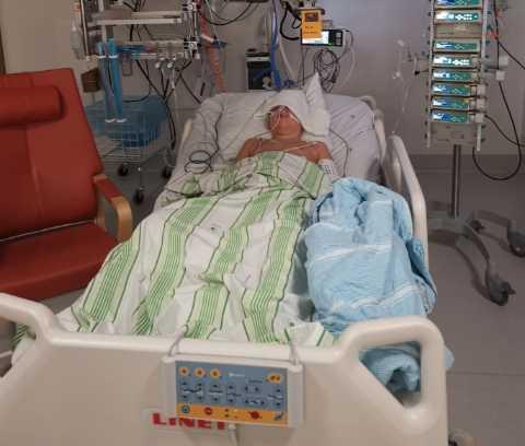 Mio drabbades av hyperinflammtion, sjukdomen som barn kan insjukna i efter covid-19.