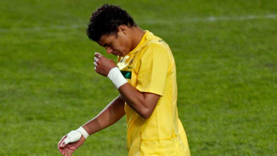 Thiago Silva i Brasiliens landslag.