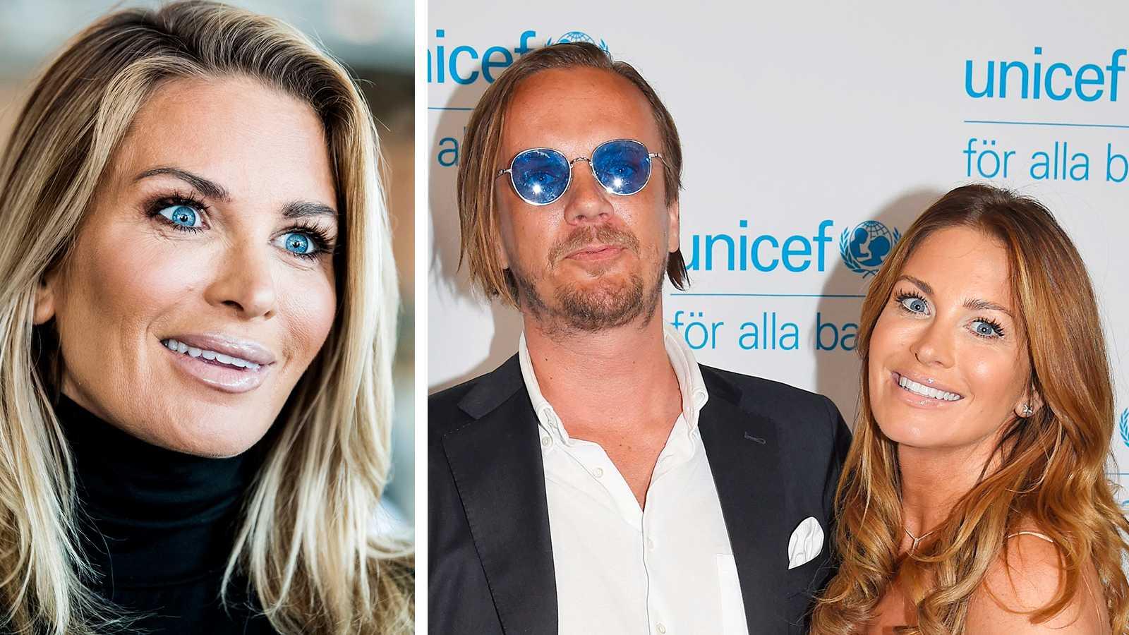 Carolina Gynning och Viktor Philipson är återförenade