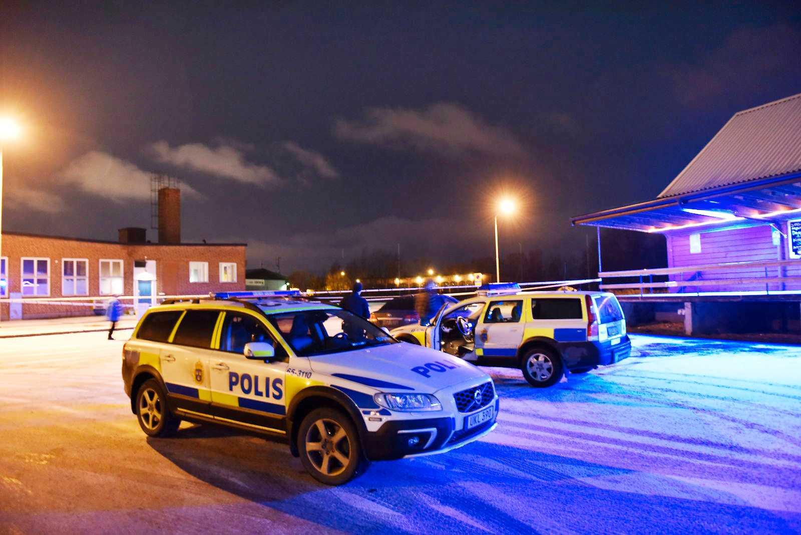 Polisen larmades strax innan klockan 18 om en skottlossning i Kristianstad.
