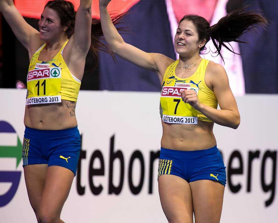 Fyra poäng skiljde Sofia Linde, 18, från Klüfts gamla juniorvärldsrekord när svenskan tog en femteplats i femkamp vid gårdagens inomhus-EM i Göteborg.