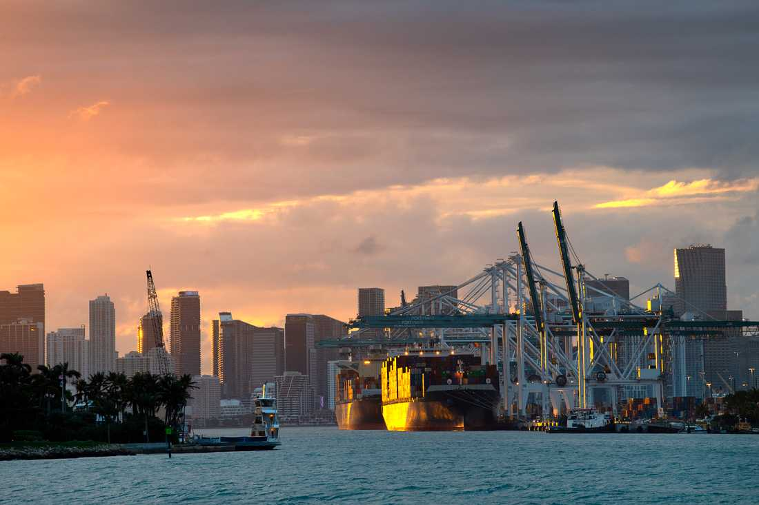 Florida är den delstat i USA som drabbas värst av klimatpåverkan.