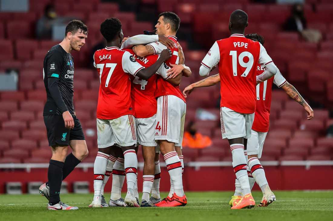 Liverpool förlorade borta mot Arsenal.