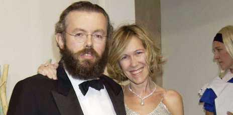 Hans Kristian Rausing och Eva Rausing.