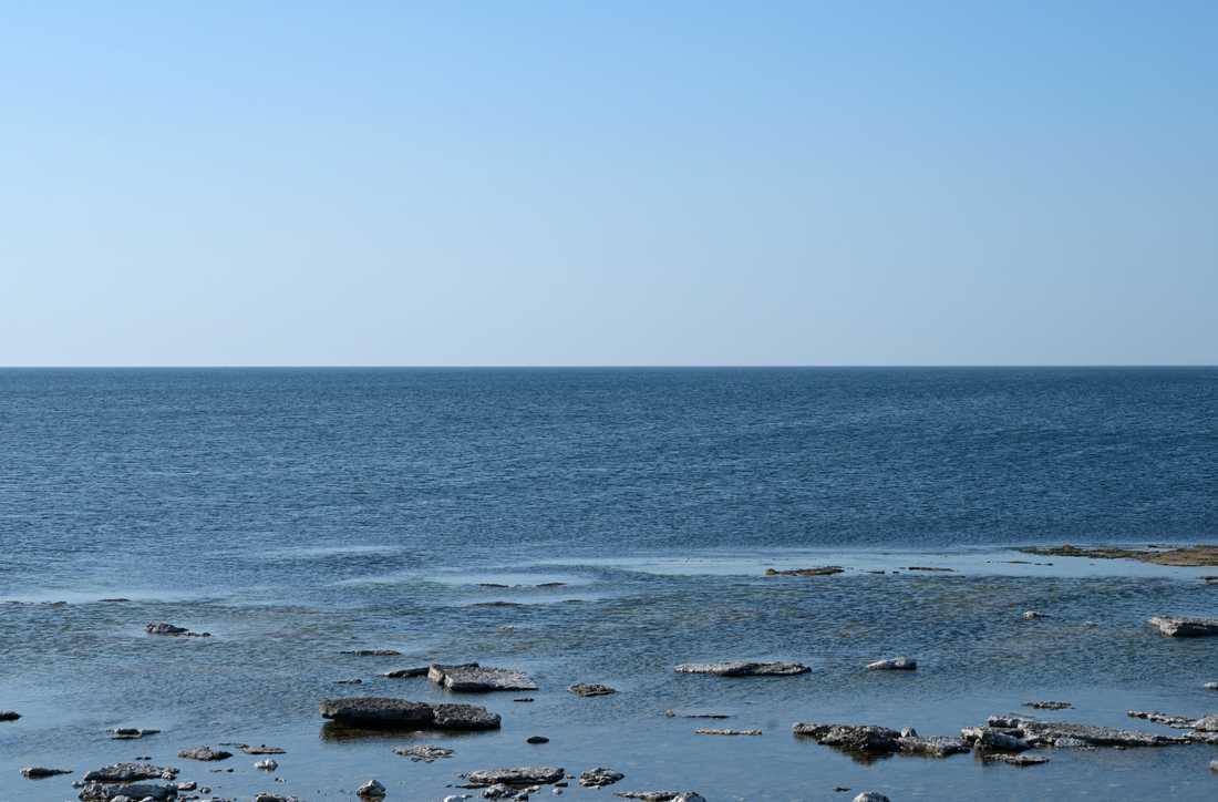 En ovanligt varm höst har gjort att Östersjön inte kylts ned lika snabbt som normalt. Arkivbild.