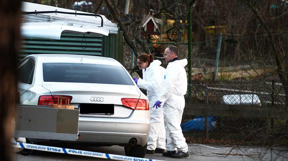 Mannen hittades död i mars i Albanoområdet på Norra Djurgården i Stockholm.