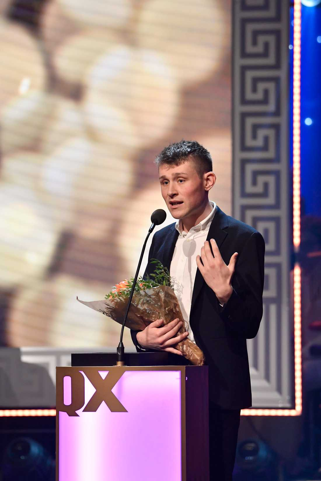 """Patrik Hermansson vinner i kategorin """" årets hederspris""""."""