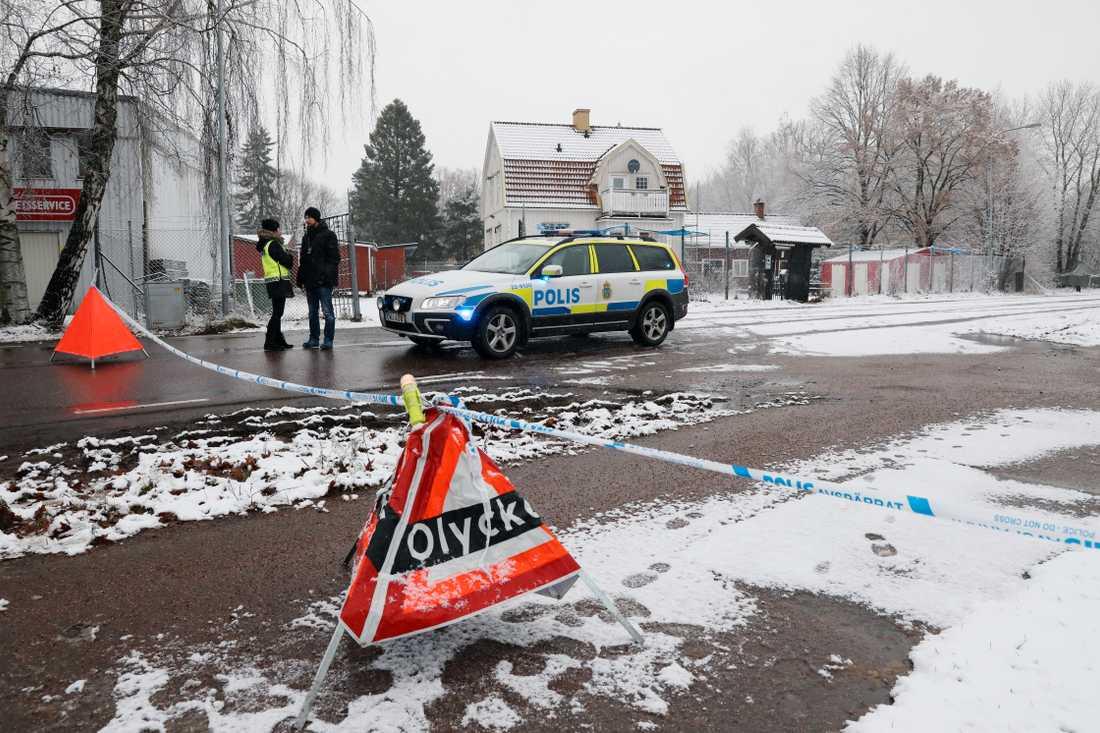 Polisen utreder ett misstänkt mord vid Hells Angels lokaler i Karlstad