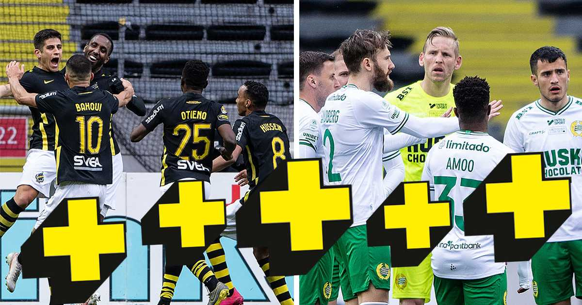 Plusbetyg: Han var bäst i AIK-Hammarby