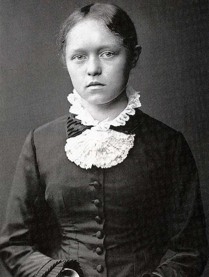Helene Schjerfbeck i tonåren på 1870-talet.