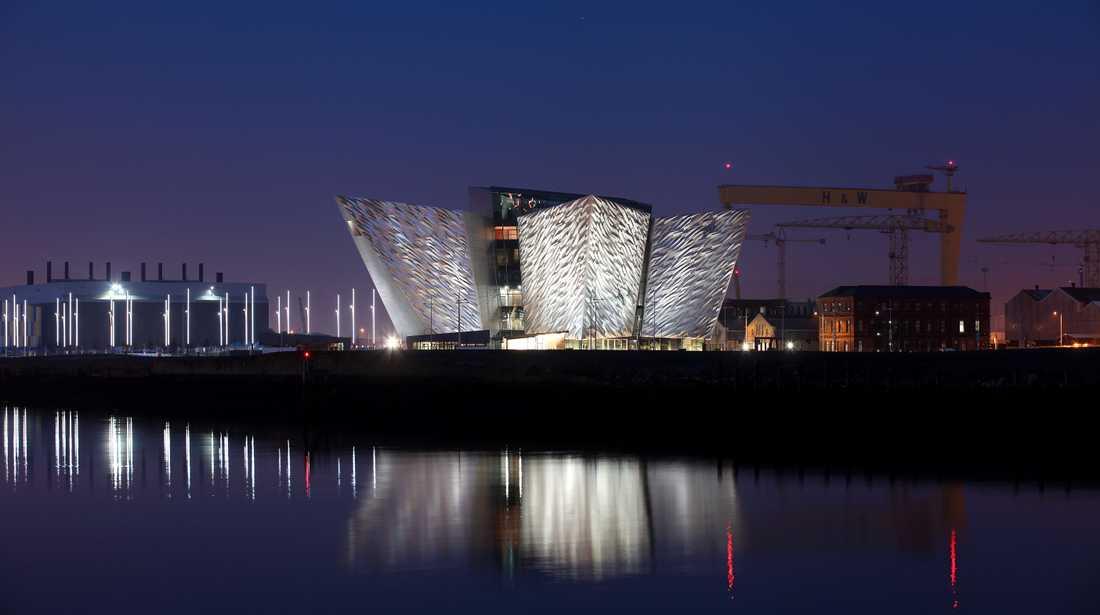 """Titanic Belfast vill inte kallas för museum - man föredrar att ses som ett """"upplevelsecentrum""""."""