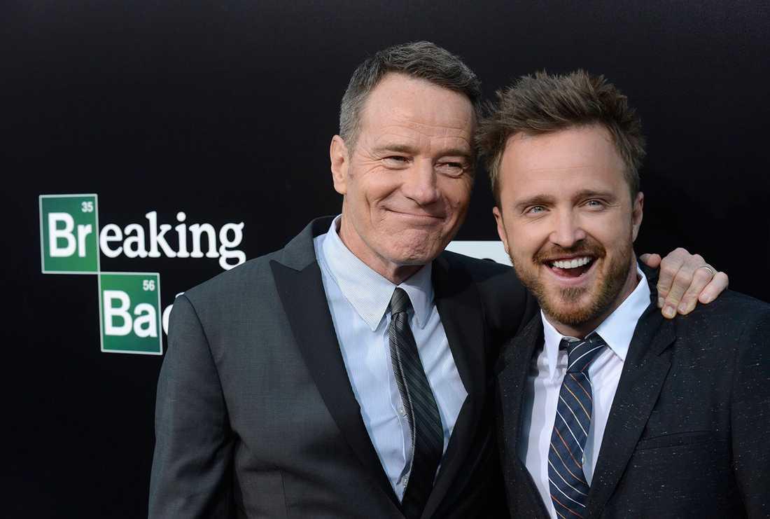 "Bryan Cranston och Aaron Paul spelar Walter White och Jesse Pinkman i ""Breaking Bad""."