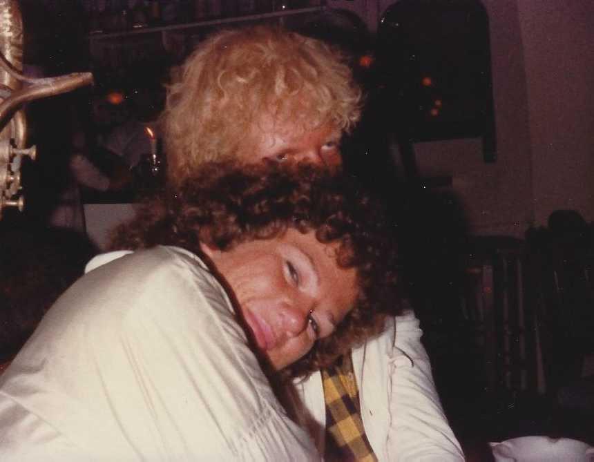 Patti Ryan med nyfunna vännen Ingmar.