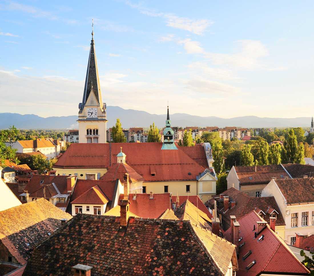 Ljubljana, en av många mindre städer på uppgång.