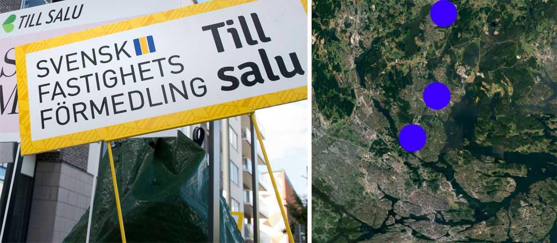 Kommunerna Danderyd, Täby och Vallentuna köper bostadsrätter som nyanlända flyktingar ska få bo i. Sedan är det tänkt att kommunen ska sälja lägenheterna. OBS: bilden till vänster är tagen vid ett annat tillfälle.