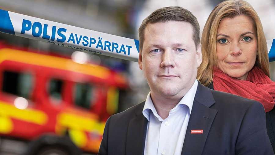 När riksdagen i höst ska uppdatera lagen om skydd mot olyckor finns förslag om att det inledande räddningsarbetet ska kunna utföras av privata aktörer. Vi är starkt kritiska till att låta mer av tryggheten i Sverige privatiseras, skriver Tobias Baudin och Lena Nitz.