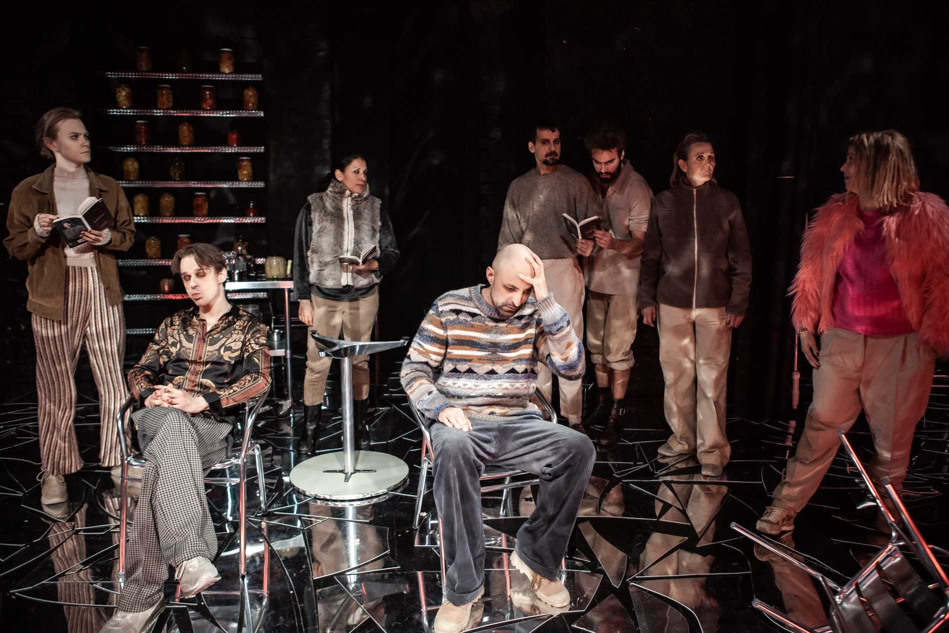 """Irakisk Kristus"" på Teater Galeasen ställs in på nytt. Pressbild."