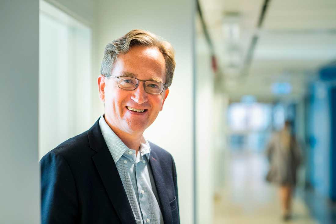 Joakim Dillner, professor i infektionsepidemiologi vid Karolinska Institutet.