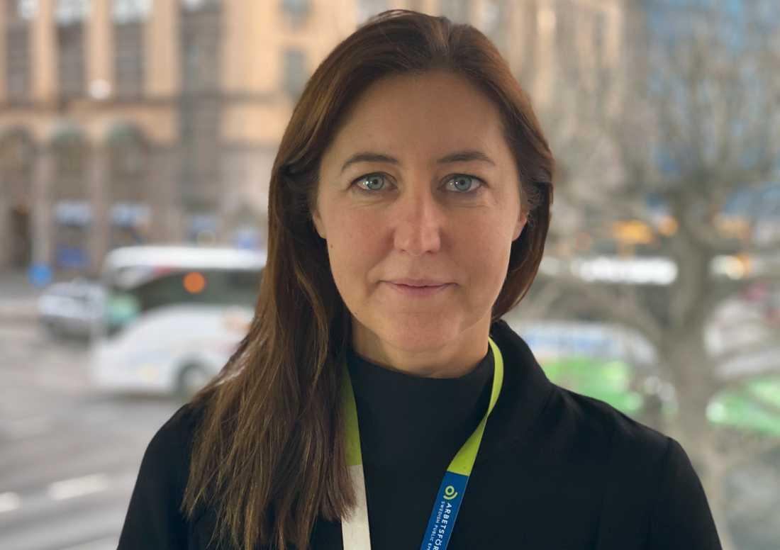 Carolina Gianola, chef på Arbetsförmedlingen i Malmö.