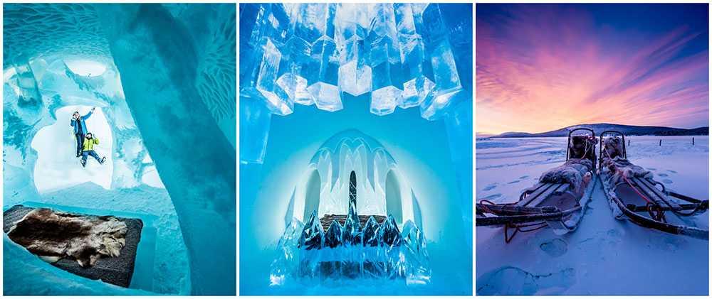 Icehotel i Jukkasjärvi har utsetts till världens bästa temahotell.