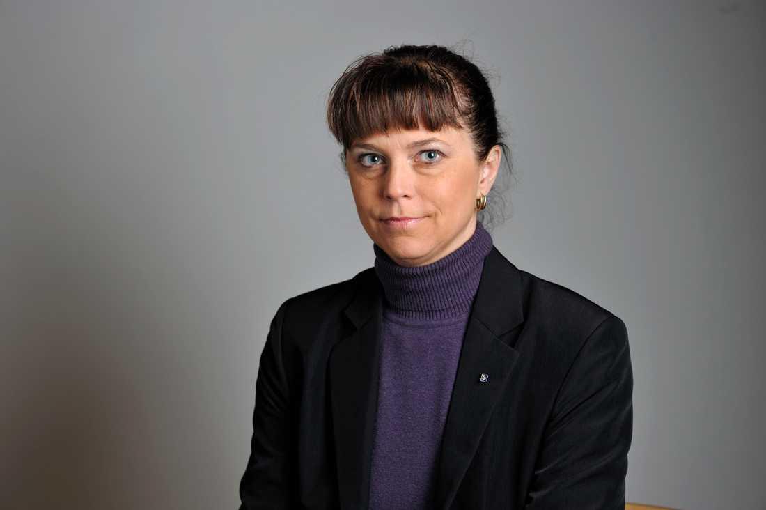 Emma Carlsson Löfdahl sitter kvar i riksdagen som politisk vilde. Arkivbild.