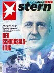 Veckans nummer av magasinet Stern.