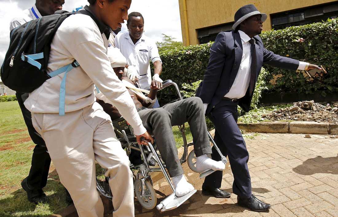 Flera skadades under polisens övning