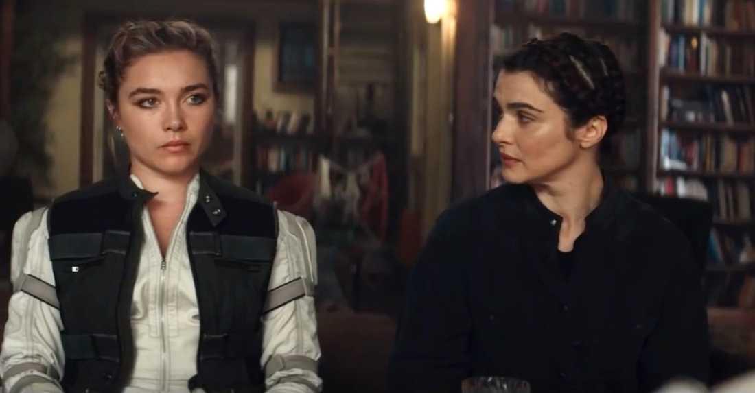"""Florence Pugh och Rachel Weisz i """"Black widow""""."""