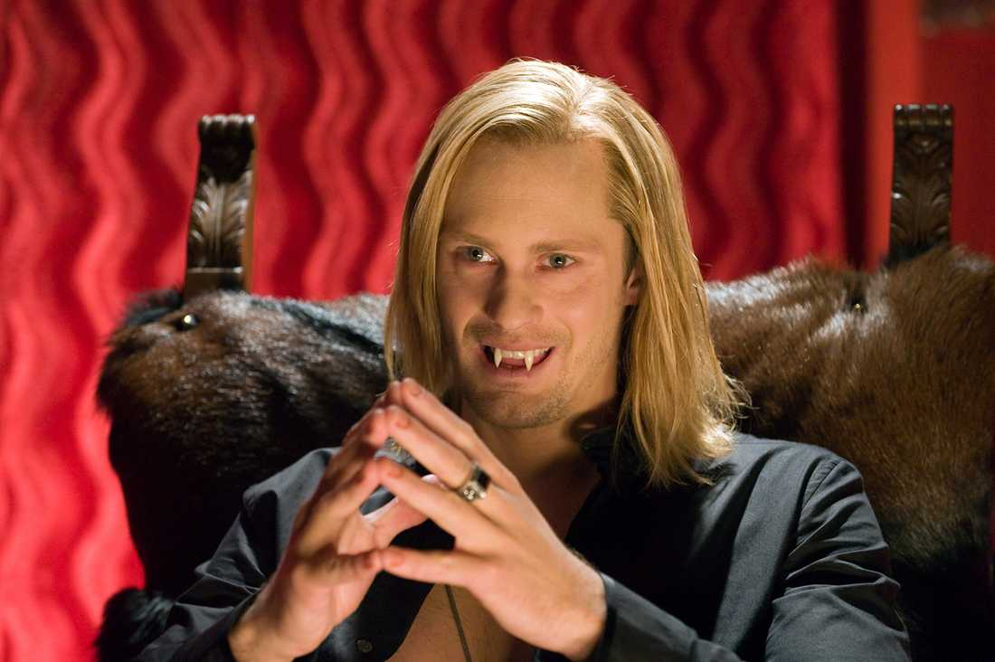 """Chris Bauer spelar mot bland andra Alexander Skarsgård i """"True blood""""."""