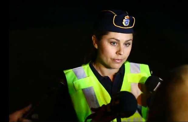 Polisens presstalesperson Jenny Widén.