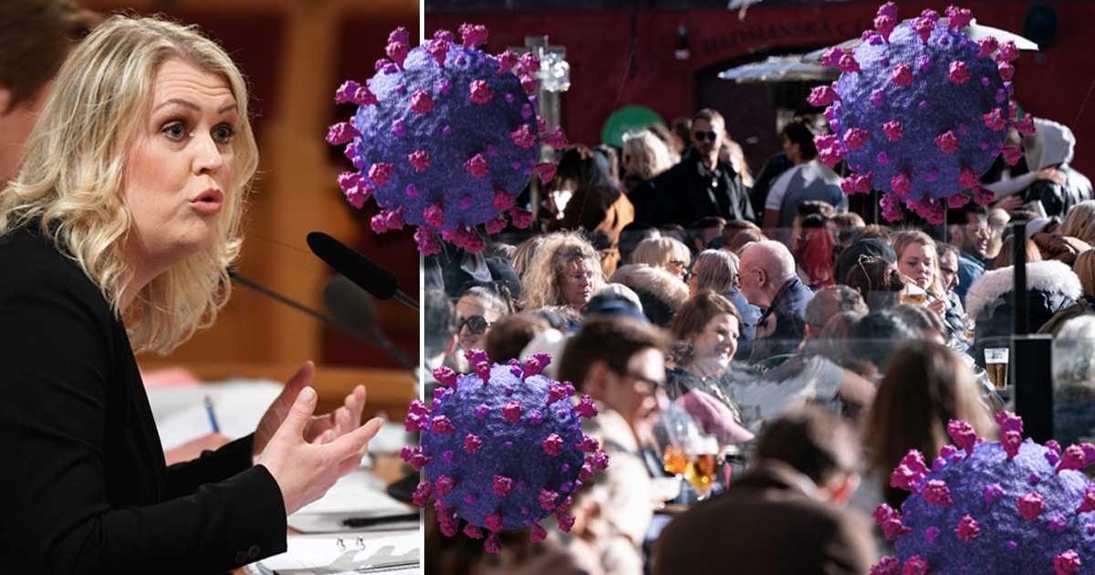 Regeringen lättade på restriktionerna – fast coronafallen blev fler