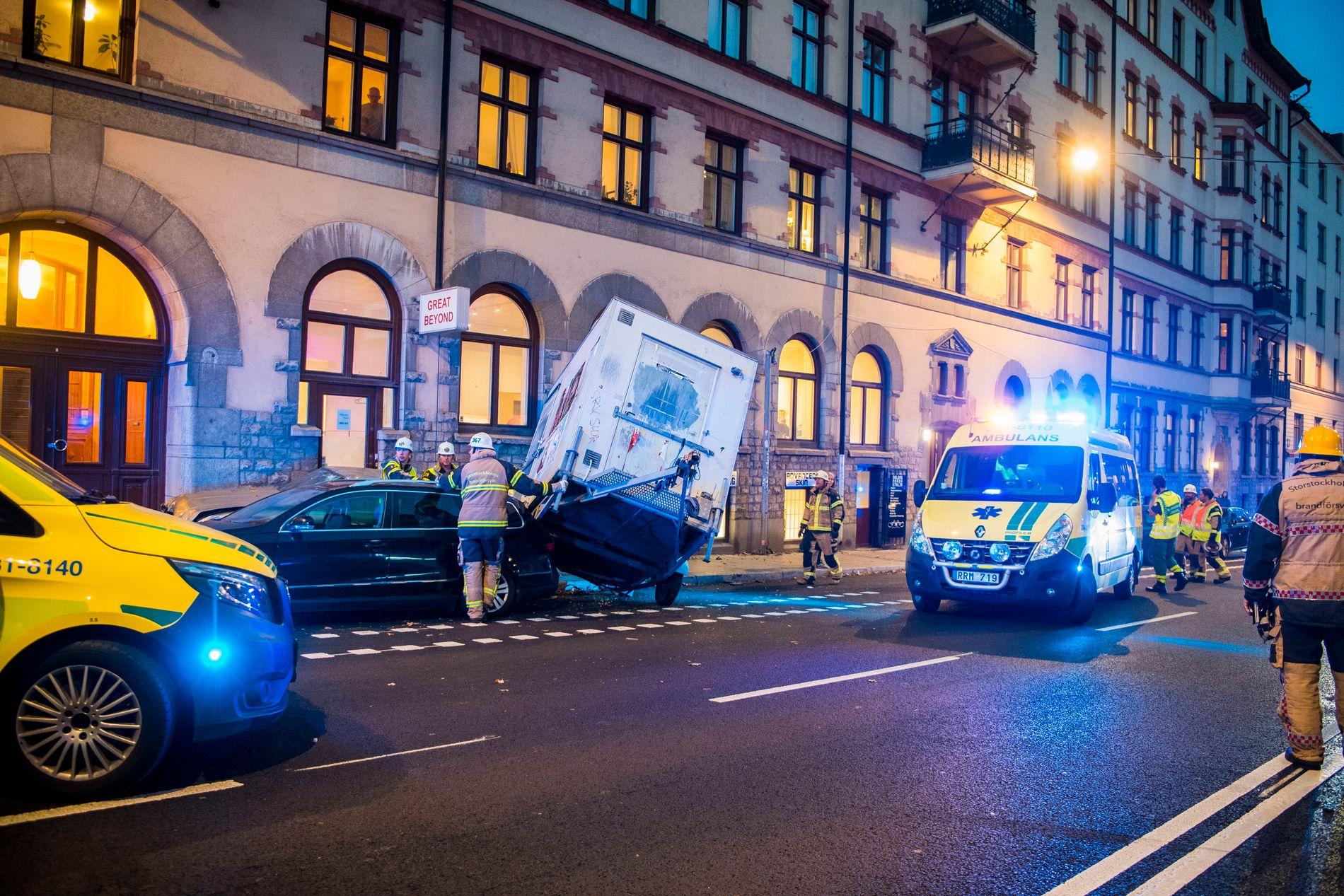 trafikolycka stockholm