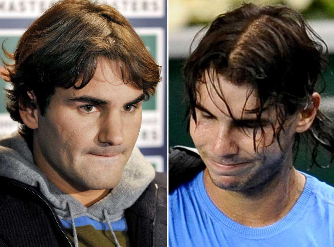 Federer och Nadal.