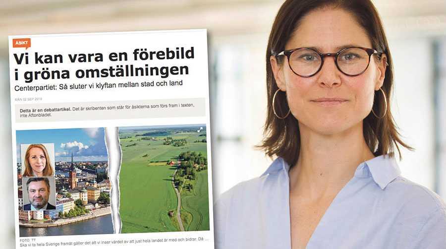 Förslaget motverkar såväl klimatomställningen som en hållbar utveckling och möjligheterna att bo och verka på landsbygden, skriver Johanna Sandahl.