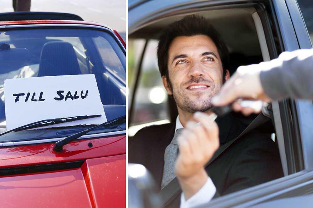 Det finns flera saker att tänka på när du säljer bilen.