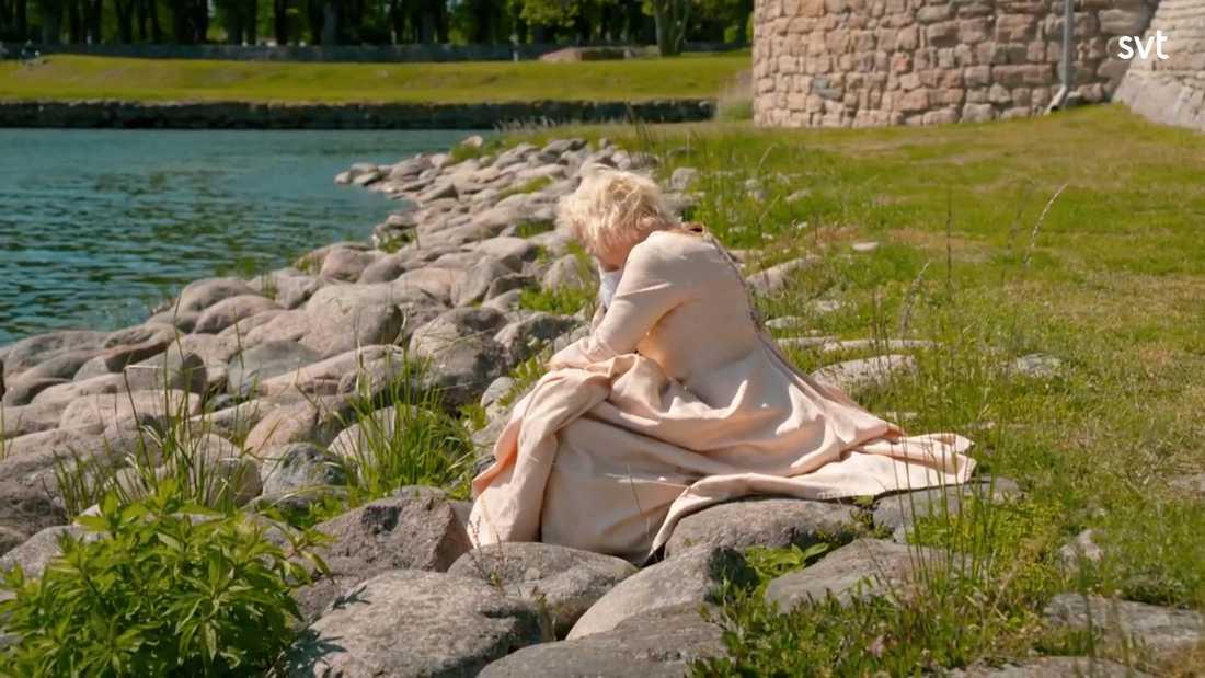 """Janet """"Holgie"""" Caplinger blev första deltagaren som fick lämna """"Allt för Sverige"""""""