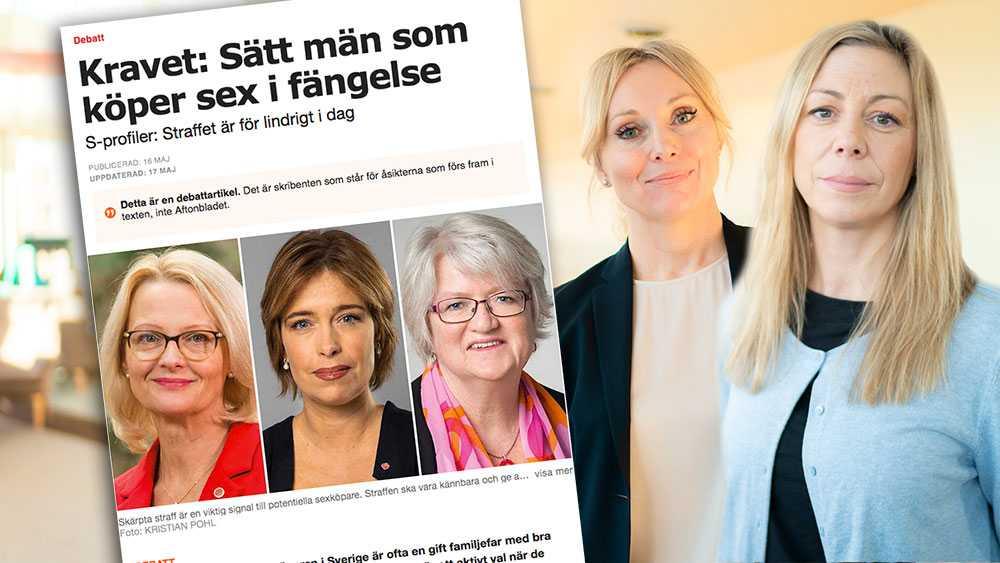 Stefan Löfvens regering har gjort mycket lite för att stävja den grova sexualbrottsligheten sedan dess tillträde för 6 år sedan. Om S står för strängare straff för köp av sexuell tjänst, varför har man inte velat genomföra detta förrän nu, först när det blivit förstasidenyheter i media, skriver Linda Lindberg och Jessica Stegrud (SD).