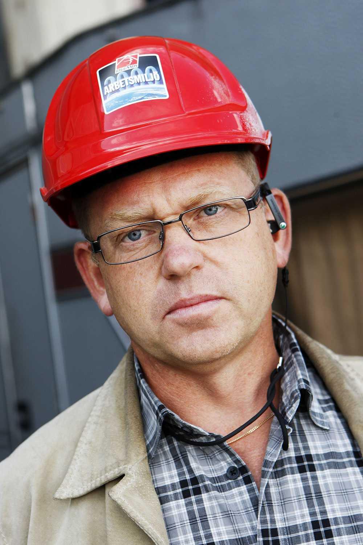 Johan Lindholm, ordförande Byggnads