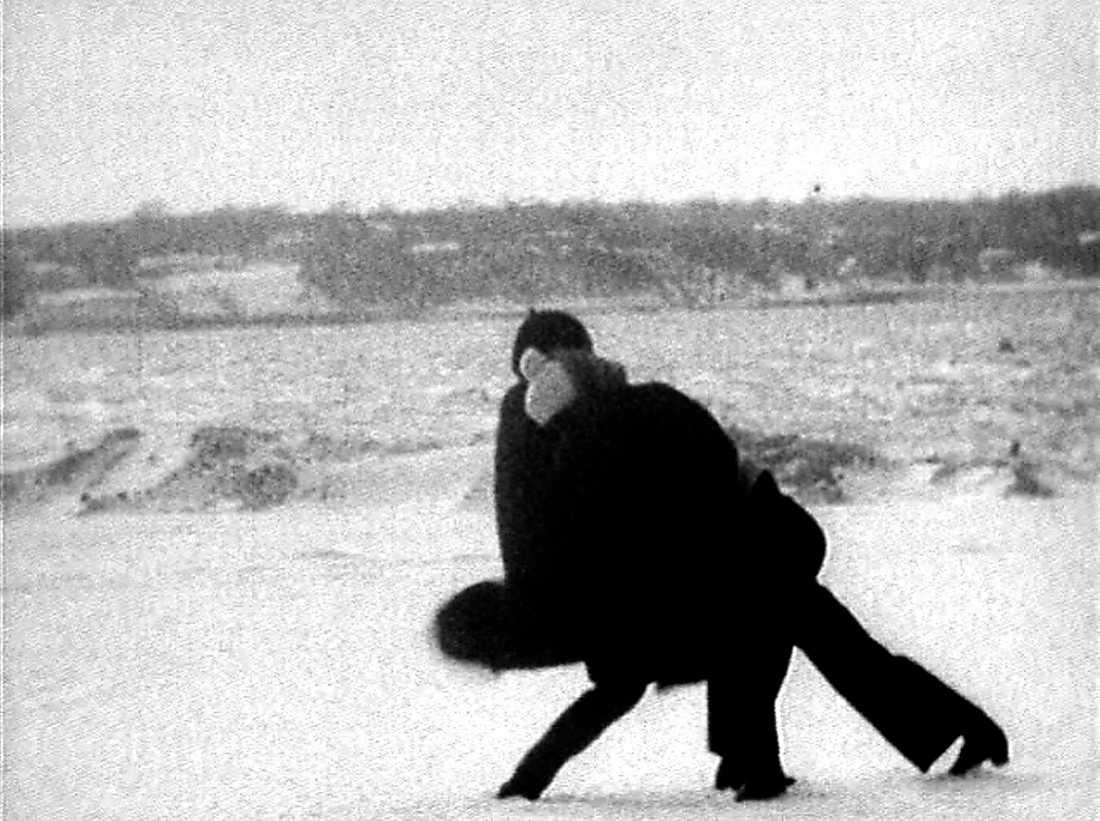 """Joan Jonas, """"Wind"""" (1968), video."""