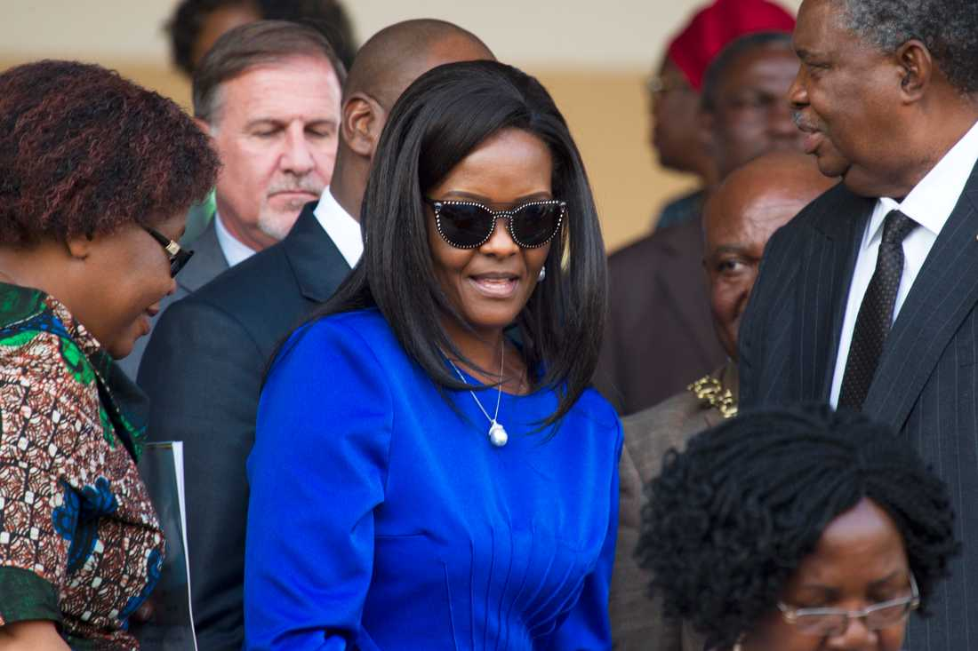 Grace Mugabe i augusti 2017.