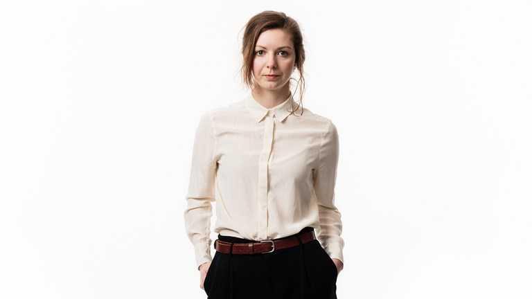 Emelie Rosén, grävande reporter på Sveriges Radio.