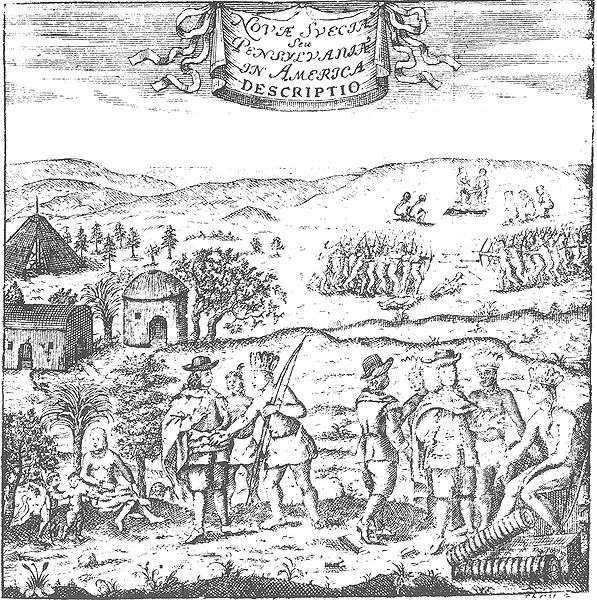 KALLA HANDEN Svenska kolonisatörer möter lokalbefolkningen. Som av förklarliga skäl inte var särskilt tänd på idén att anamma kristendomen.