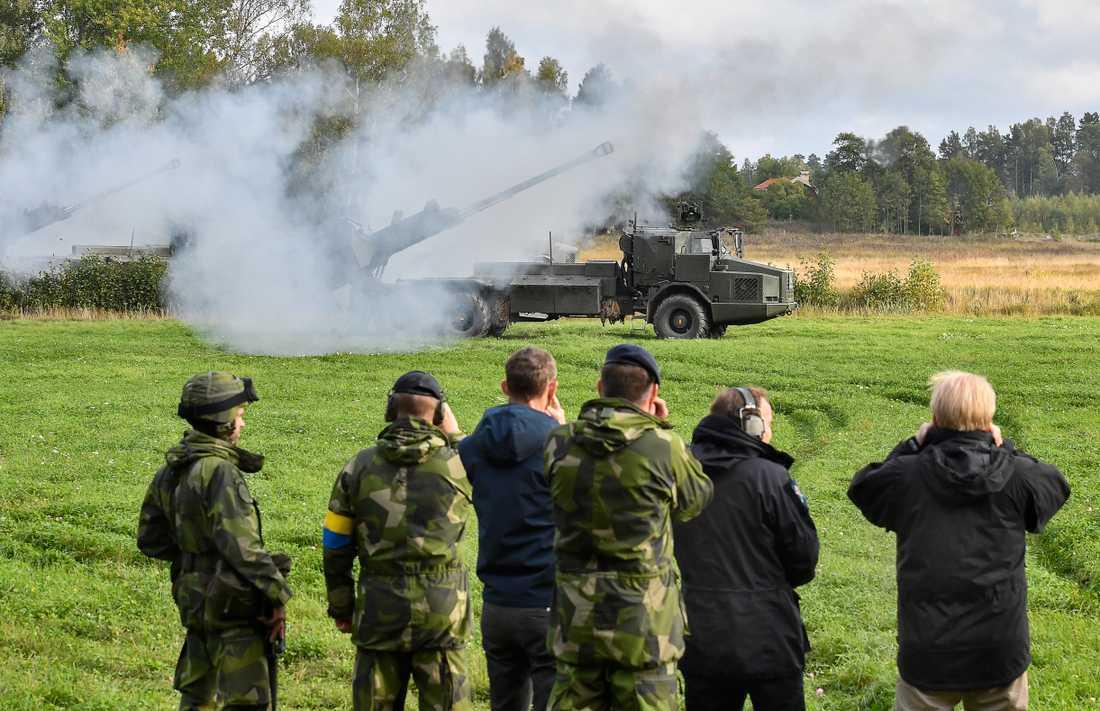 Artillerisystemet Archer är framtaget av svensk-brittiska BAE Systems Bofors. Arkivfoto.