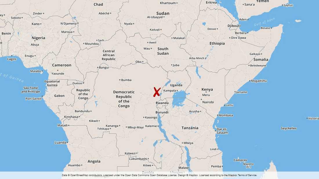 Attacken inträffade i byn Kokola i östra Kongo-Kinshasa.
