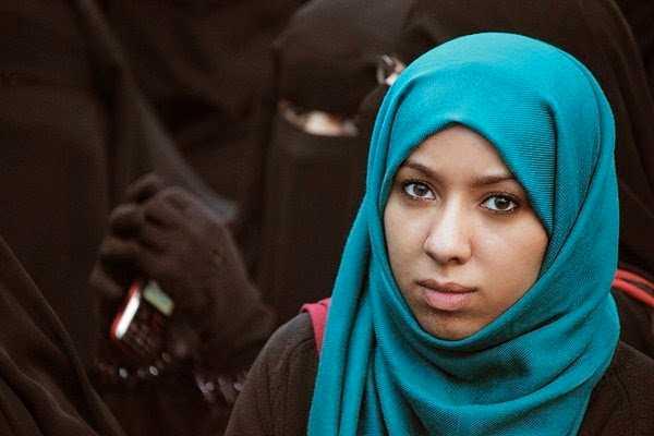 Afrah Nasser på Förändringstorget i Sanaa 2011.