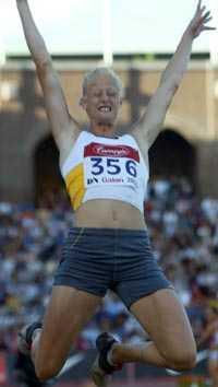 Carolina Kluft vann dagens längdtävling på DN-galan.
